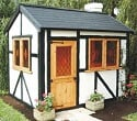a1 tudor lodge wooden playhouse small image