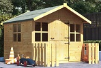 billyoh lollipop junior wooden playhouse small image