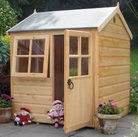 bunny wooden playhouse image