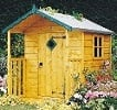hide wooden playhouse small image
