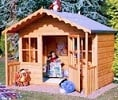 pixie wooden playhouse small image