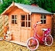 poppy wooden playhouse small image