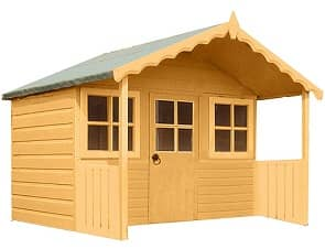 stork wooden playhouse image