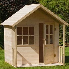 tp ground wooden playhouse image