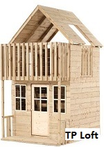 tp loft wooden playhouse image