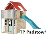 tp padstow wooden playhouse image