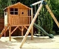 tulip activity tower wooden playhouse small image