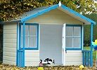 woodbury 6x4 wooden playhouse small image